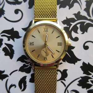 CHIC Dial Low-key Quartz Watch - Yellow Gold Color